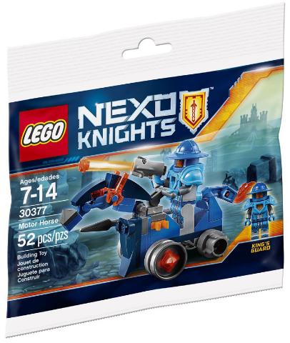 LEGO 30377 Nexo Knights Motor Horse 52 piece Polybag Mini set