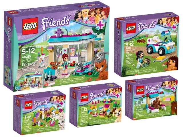 Bricklink Original Box 5004464 1 Lego Friends Vet Collection