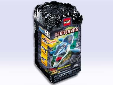 BrickLink - Original Box 6721-1 : Lego Mosasaurus [Dinosaurs] - BrickLink  Reference Catalog