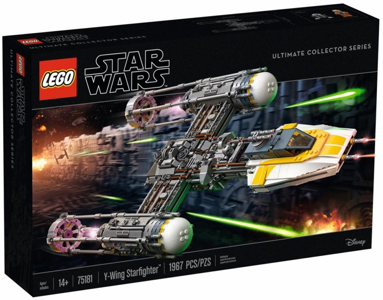 BrickLink - Original Box 75181-1 : Lego Y-Wing Starfighter - UCS ...