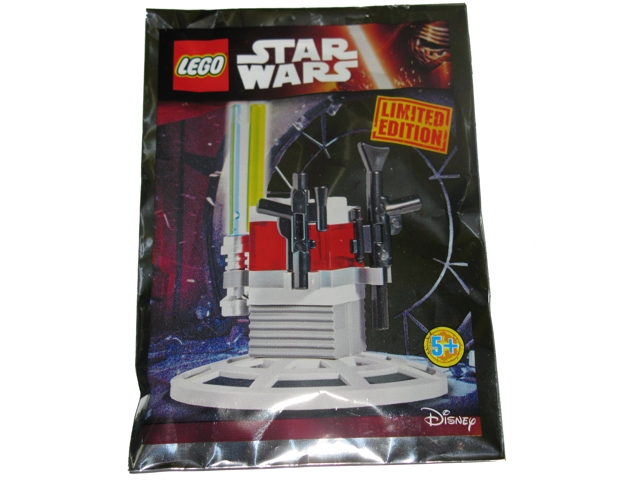 LEGO ® 911511 Jedi armes Support Sachet Weapon Stand Foilpack Star Wars
