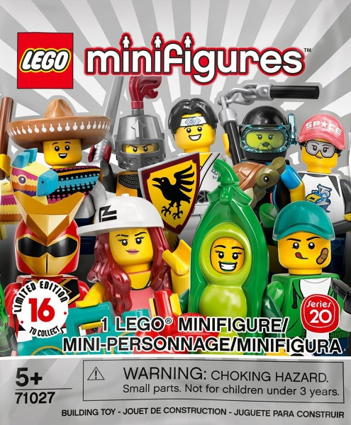 LEGO® Collectable Minifigure BRAND NEW 80s Musician Series 20 #14