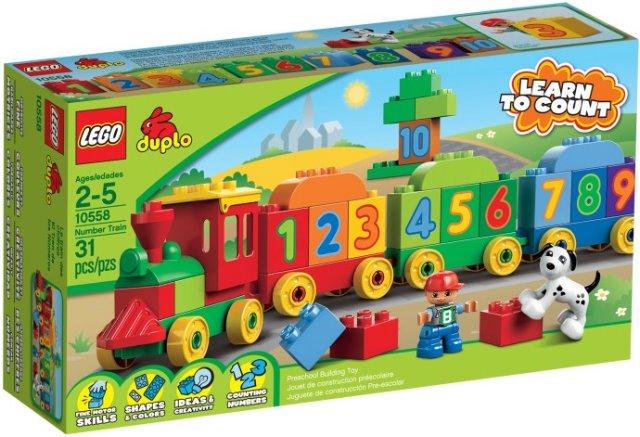 Bricklink Set 10558 1 Lego Number Train Duploduplo Train