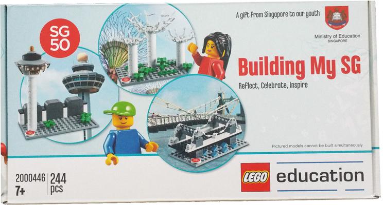 Lego 2000446 BUILDING MY SG SET SG50 SPECIAL Singapore Limited set NEW