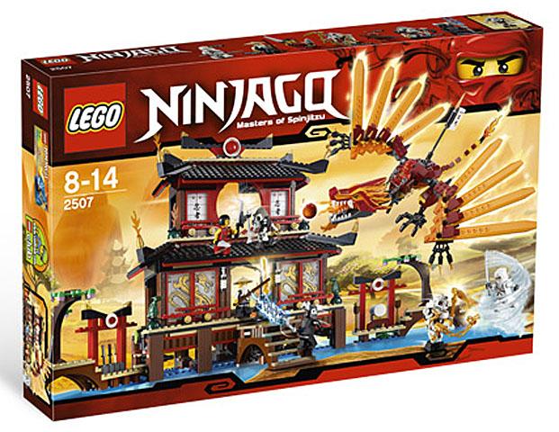 Bricklink Set 2507 1 Lego Fire Temple Ninjagothe Golden