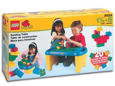 BrickLink   Set 3024 1 : Lego Building Table [Duplo:Supplemental]    BrickLink Reference Catalog