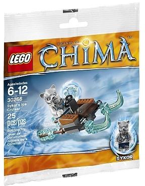 BrickLink - Set 30266-1 : Lego Sykor's Ice Cruiser polybag [Legends of  Chima] - BrickLink Reference Catalog