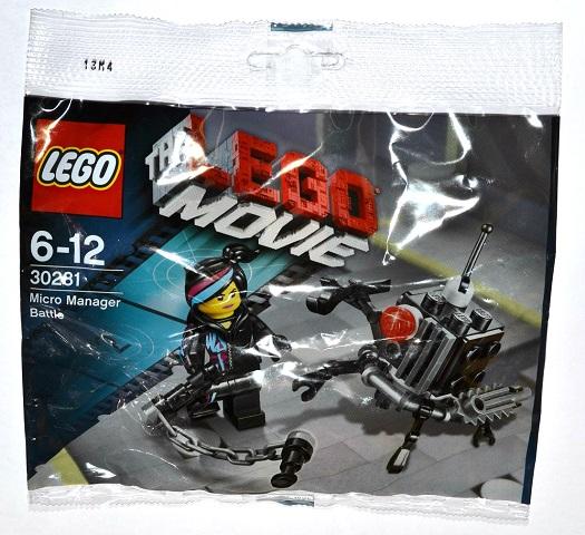 Bricklink Set 30281 1 Lego Micro Manager Battle Polybag The Lego Movie Bricklink Reference Catalog