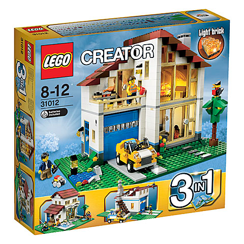 only instruction, no bricks Lego Instructions 31012