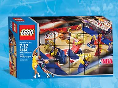 2 Set 3429 3432 nba028 LEGO ®-Minifigur Sports NBA Spieler Team rot Nr