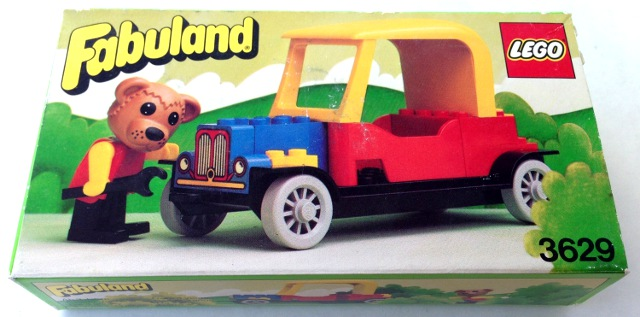 BrickLink - Set 3629-1 : Lego Barney Bear [Fabuland] - BrickLink Reference  Catalog