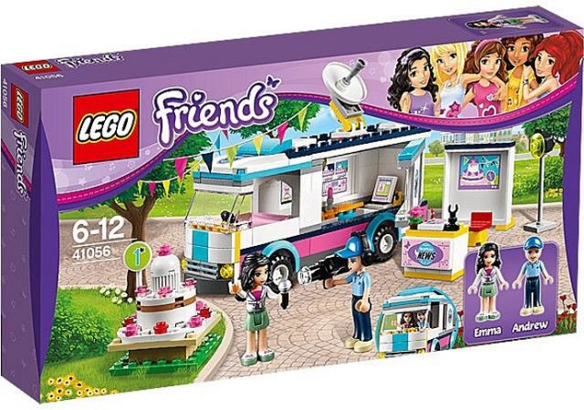 Bricklink Set 41056 1 Lego Heartlake News Van Friends