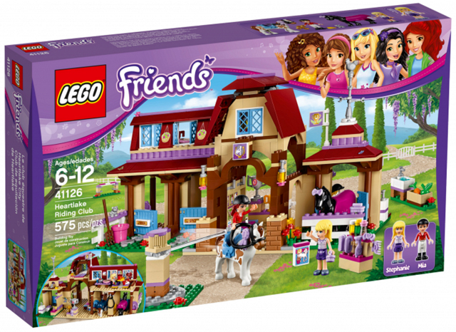 LEGO® Friends 41126 Minifigur Mia aus Reiterhof mit Reiterkappe frnd164