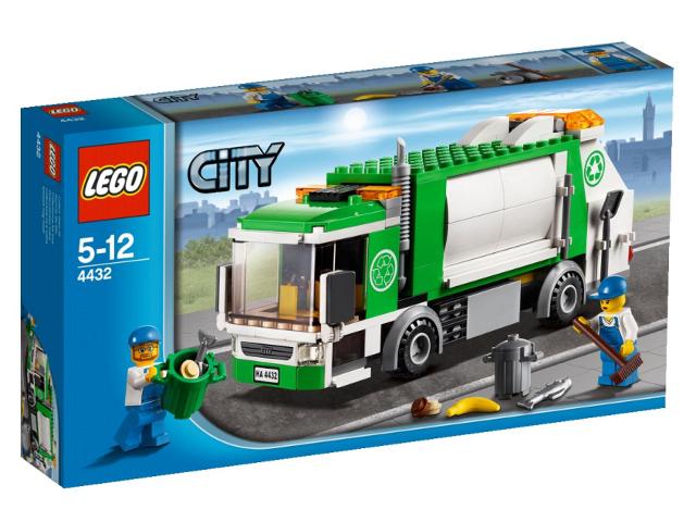 BrickLink - Set 4432-1 : Lego Garbage Truck [Town:City:Traffic] - BrickLink  Reference Catalog