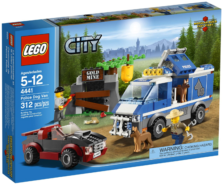BrickLink - Set 4441-1 : Lego Police Dog Van [Town:City