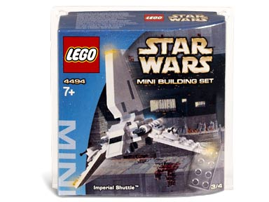 BrickLink - Set 4494-1 : Lego Imperial Shuttle - Mini [Star Wars