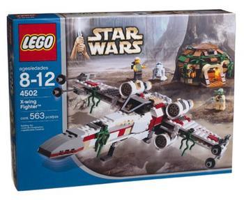 BrickLink - Set 4502-1 : Lego X-wing Fighter (Dagobah), Blue box ...