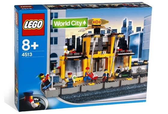 BrickLink - Set 4513-1 : Lego Grand Central Station [Train:9V:World City] -  BrickLink Reference Catalog