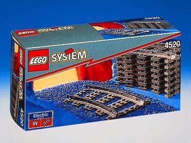 Bricklink Set 4520 1 Lego Curved Rails Trainsupplemental9v