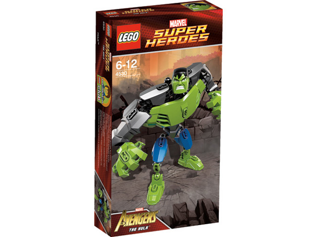 BrickLink - Set 4530-1 : Lego The Hulk [Super Heroes:Buildable ...