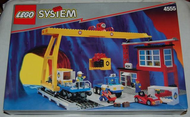 BrickLink - Set 4555-1 : Lego Cargo Station [Train:9V] - BrickLink  Reference Catalog
