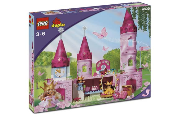 Lego Duplo-Tower Castle-Princess-Pink-from 4821