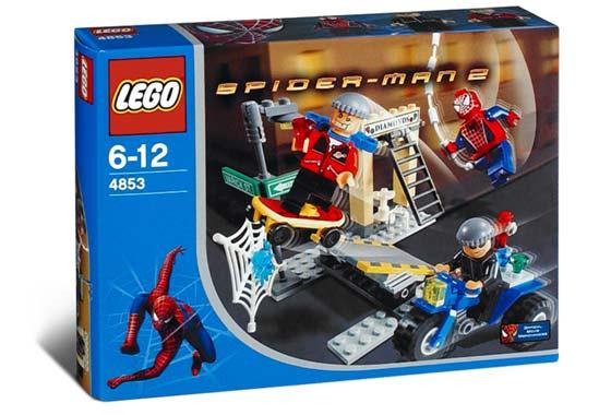 BrickLink - Set 4853-1 : Lego Spider-Man's Street Chase  [Spider-Man:Spider-Man 2] - BrickLink Reference Catalog