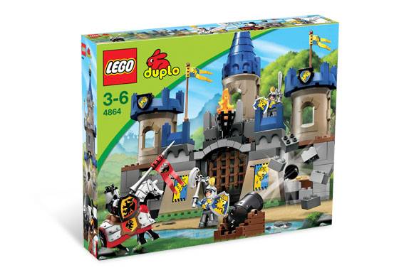 BrickLink - Set 4864-1 : Lego Castle [Duplo:Castle] - BrickLink Reference  Catalog