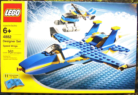 BrickLink - Set 4882-1 : Lego Speed Wings [Designer Sets:Airport] -  BrickLink Reference Catalog