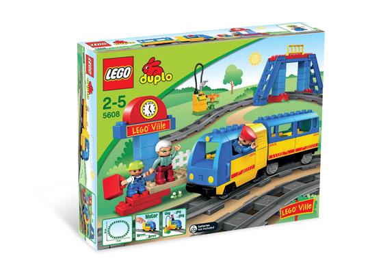Bricklink Set 5608 1 Lego Train Starter Set Duploduplo Train