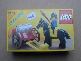 Black Knight´s Treasure Complete LEGO Castle 6011 Black Falcons
