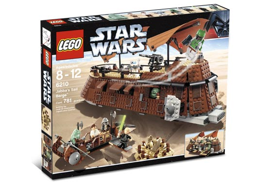 LEGO Star Wars Jabba the Hutt Minifigure Minifig Building Figure 4480 6210