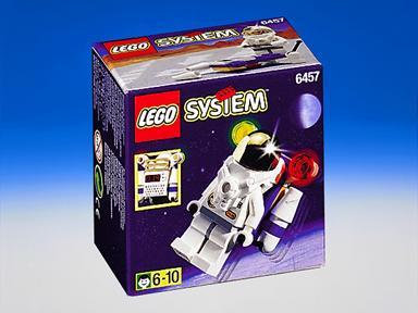 Lego Space Port Astronaut Figure 6457