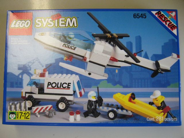 BrickLink - Set 6545-1 : Lego Search N' Rescue [Town:Classic Town:Police] -  BrickLink Reference Catalog