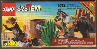BrickLink Set 6712 1 : Lego Sheriff's Showdown [Western