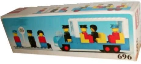 Lego ® recipe//instruction no 696