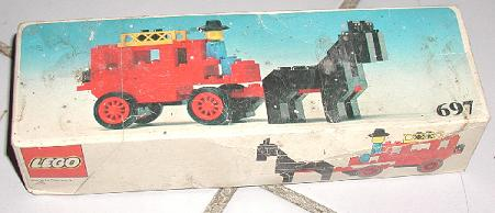 LEGO® Bauanleitung 697 Instruction Nr