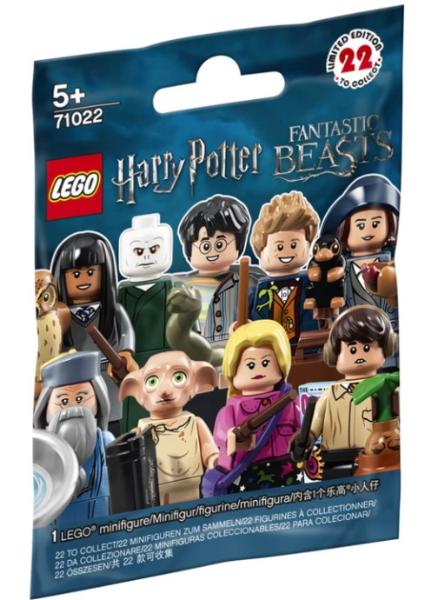 LEGO SET 71022 POLYBAG FIGURINE MINIFIG HARRY POTTER N° 21 CROYANCE BELLEBOSSE