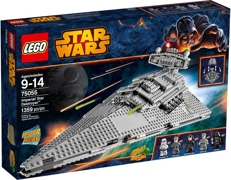 NEW LEGO 75055 STICKER SHEET Star Wars 75055 Imperial Star Destroyer