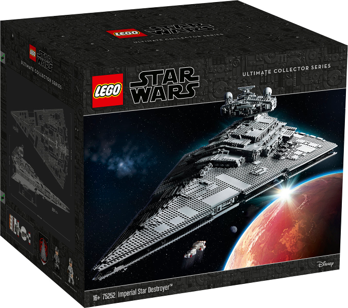 Lego® Star Wars Customsticker 75252 Star Destroyer UCS cmyk vinyl HQ