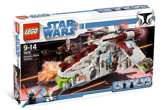 Custom Replacement Lego Star Wars Republic Attack Gunship 7676 Stickers Decals