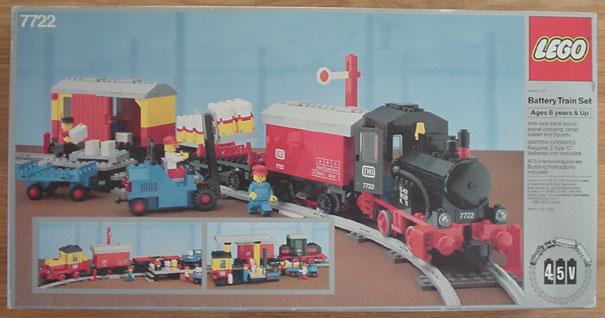 Lego steam cargo train set instructions 7722, trains.