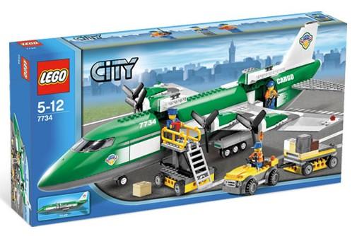 Bricklink Set 7734 1 Lego Cargo Plane Towncityairportcargo