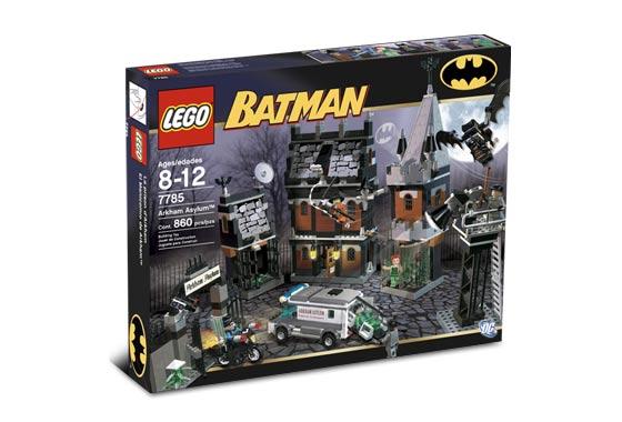 Bricklink Set 7785 1 Lego Arkham Asylum Batman I Bricklink