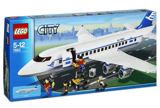 Bricklink Set 7893 1 Lego Passenger Plane Towncityairport
