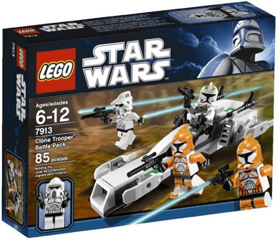 Bricklink Set 7913 1 Lego Clone Trooper Battle Pack Star Wars