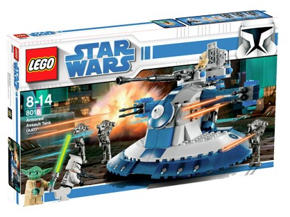 Bricklink Set 8018 1 Lego Armored Assault Tank Aat Star Wars