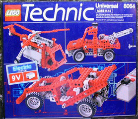 BrickLink - Set 8064-1 : Lego Universal Motor Set 9V [Technic:Universal  Building Set] - BrickLink Reference Catalog