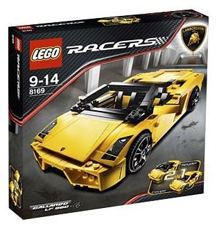 Bricklink Set 8169 1 Lego Lamborghini Gallardo Lp 560 4 Racers
