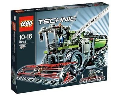 Ubrugte BrickLink - Set 8274-1 : Lego Combine Harvester [Technic:Model DG-46